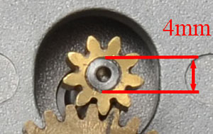 Pinion Diameter